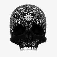 skull head 3d max
