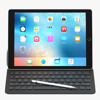 apple ipad pro 3d max
