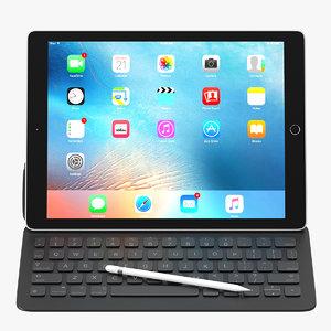 apple ipad pro 3d max