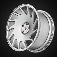 vossen vps-313t rim wheel 3d 3ds
