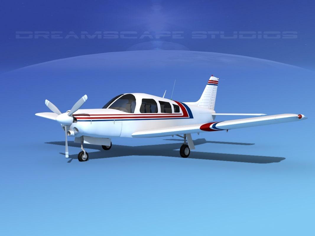 3d model propeller piper turbo arrow