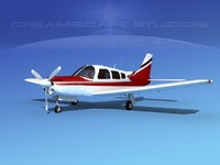 propeller piper turbo arrow 3d model