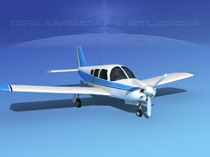 piper turbo arrow 3d max