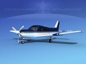 propeller piper turbo arrow 3d 3ds