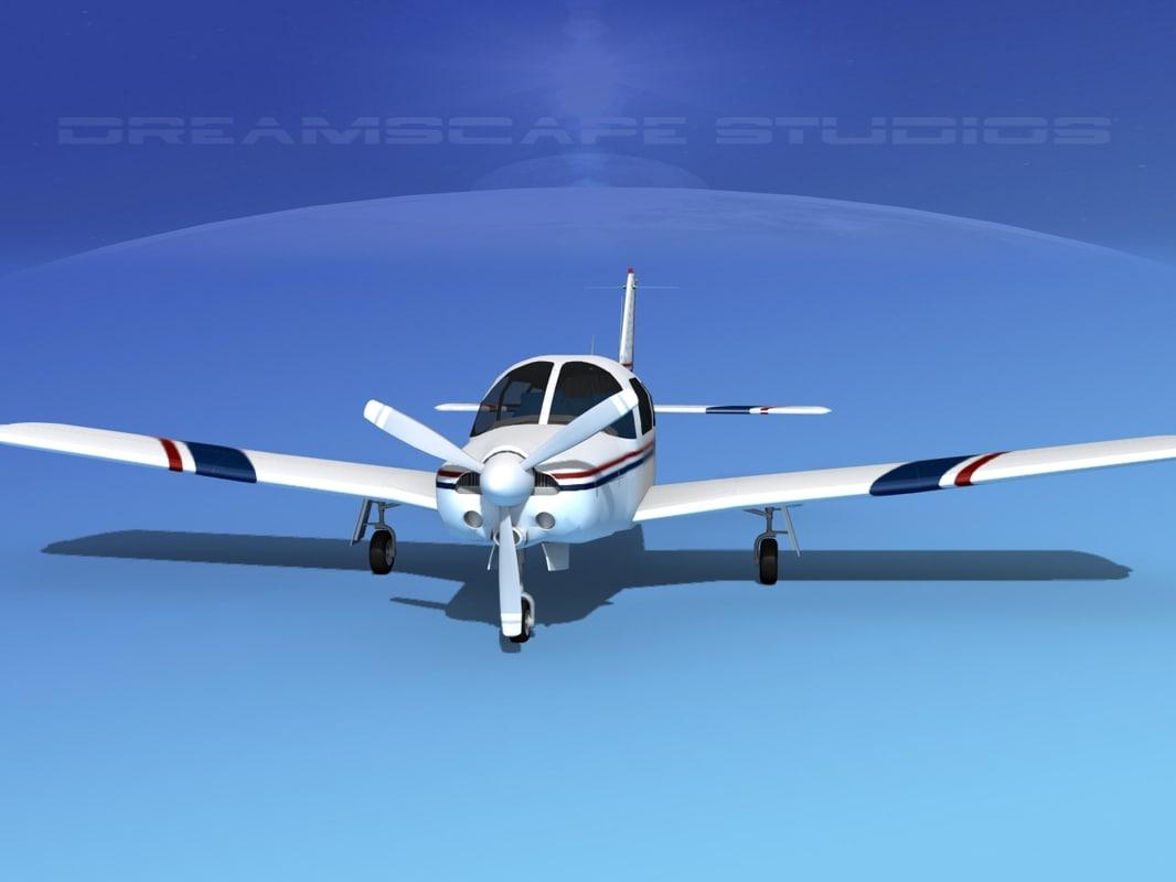 3d 3ds propeller piper turbo arrow