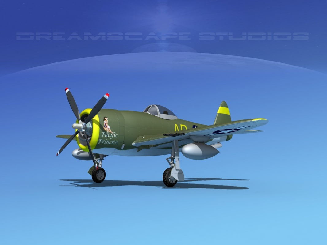 max thunderbolt fighters bomber