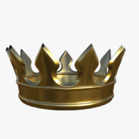 3d max gold crown