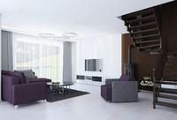 living room sofa 3d x