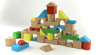 3d model of building blocks