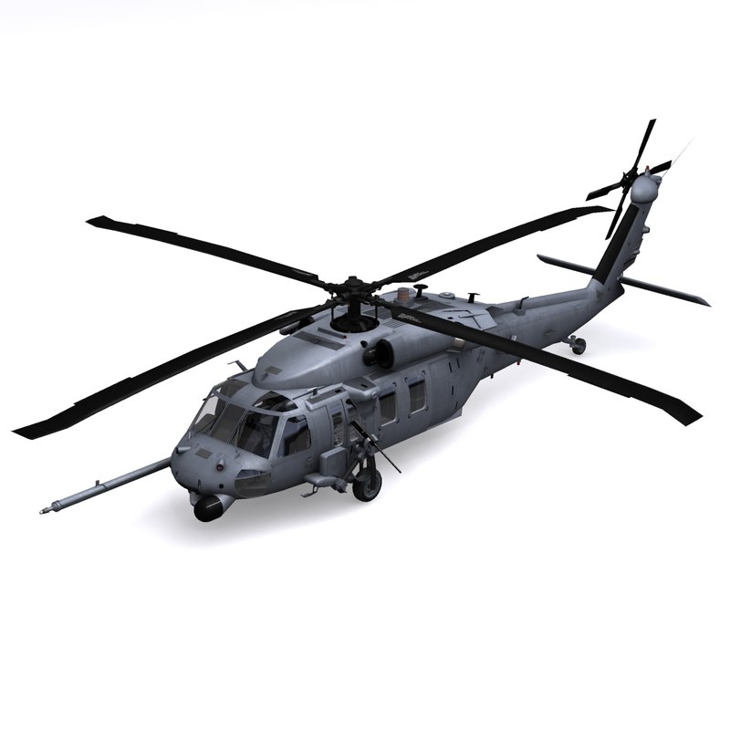 3ds pave hawk helicopter