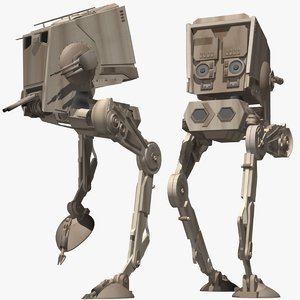 3d star wars walker model