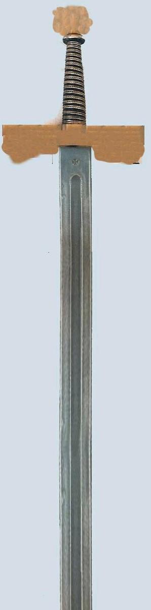3d gun sword