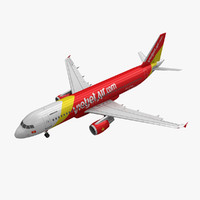 Airbus A320 VietJet Air 2 Animated
