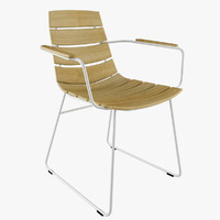 william chair 3d max