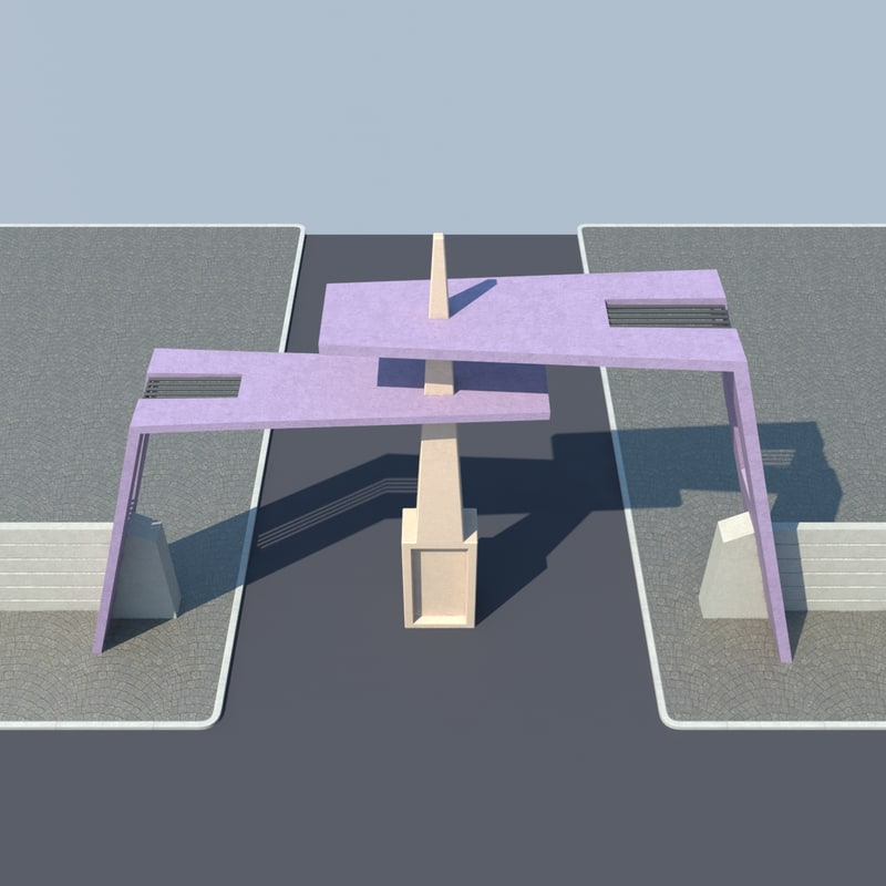free max model gate entrance