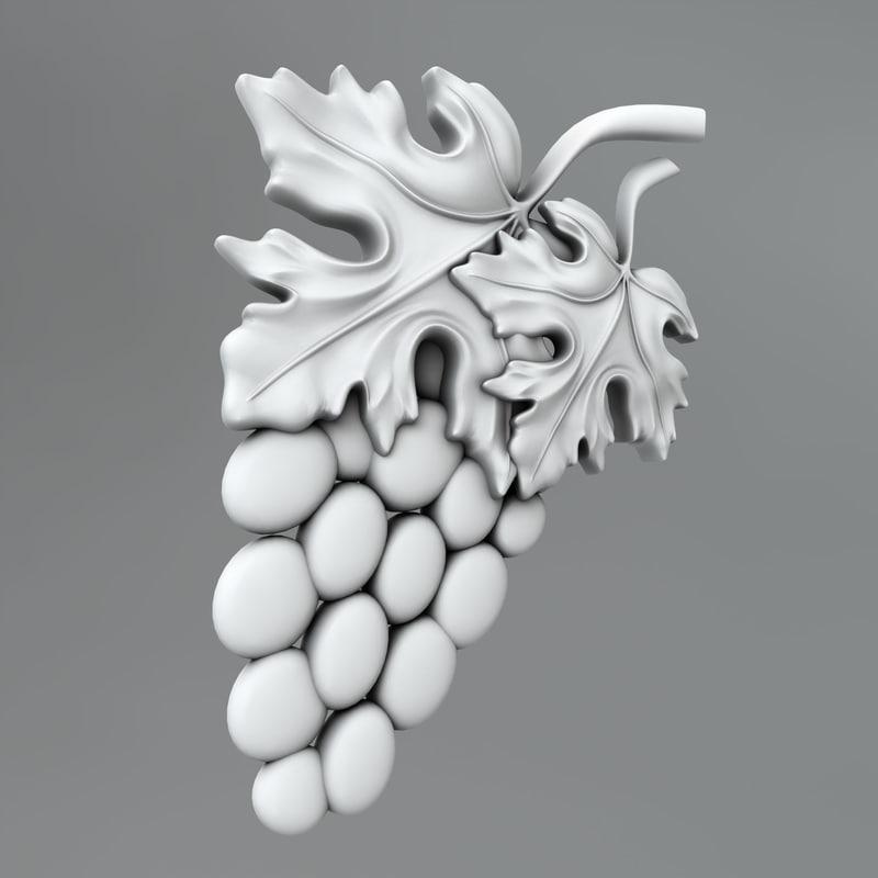 classical decoration 3d model