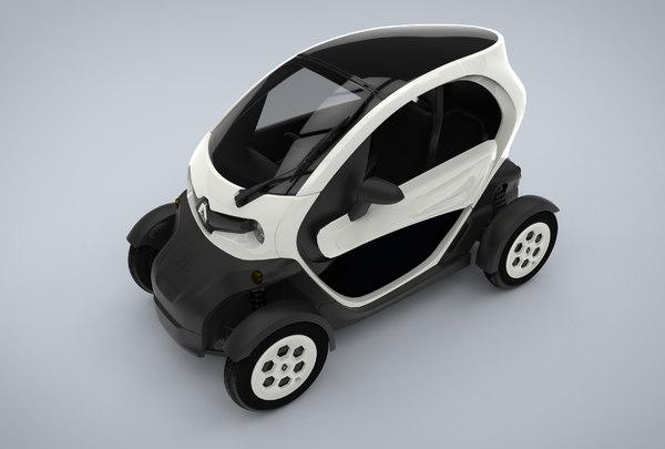3d model renault twizy