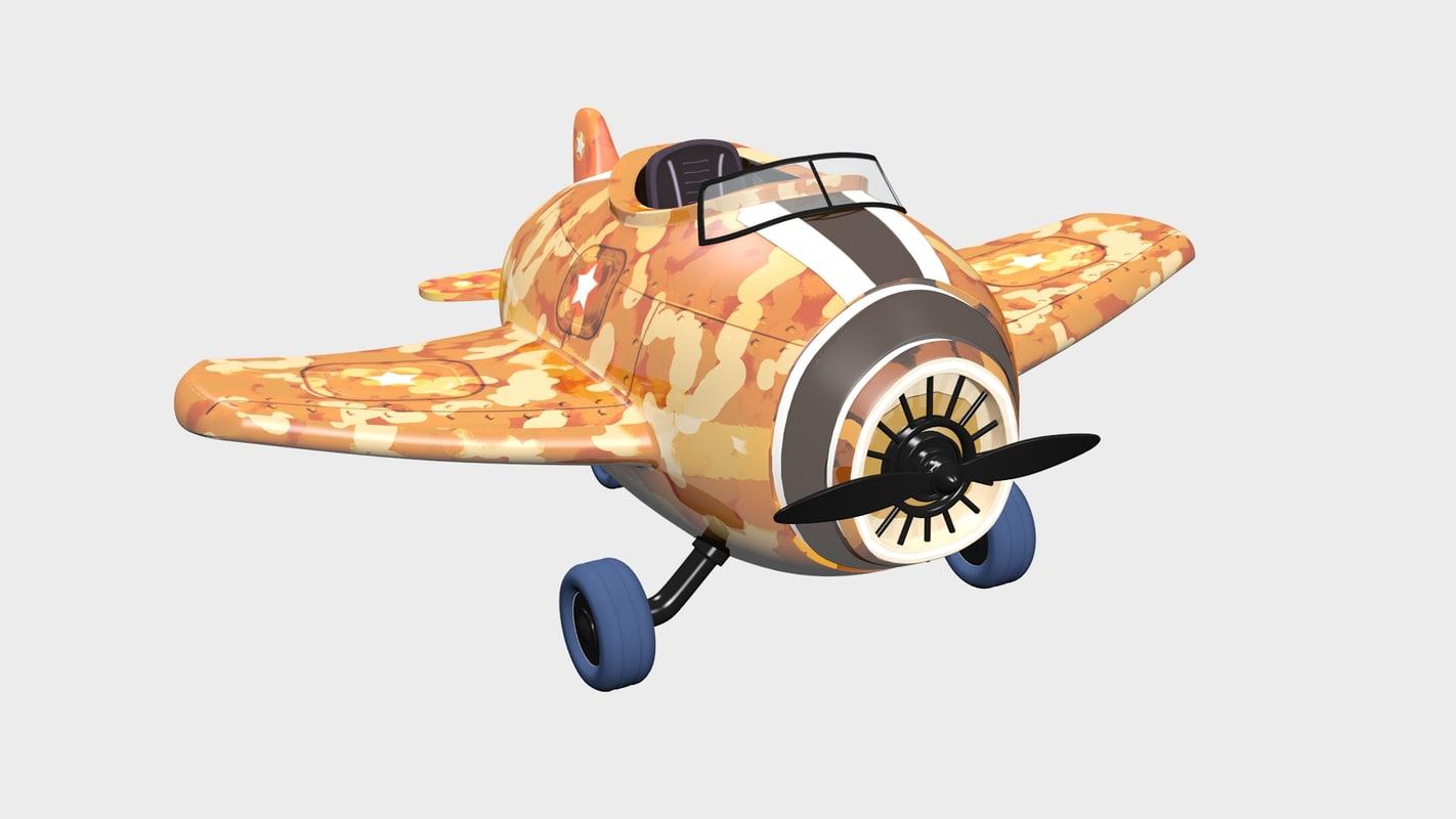 max cartoon airplane