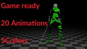 3d animation character