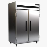 3d max commercial refrigerator