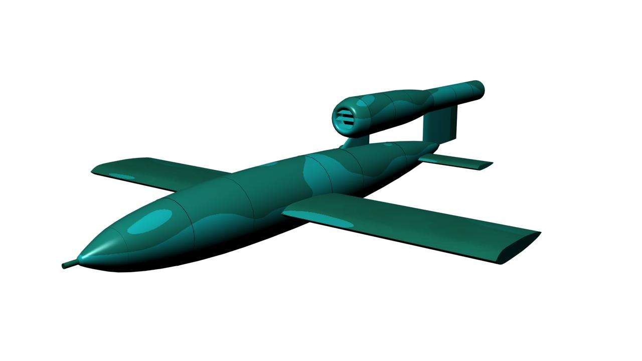 max v-1 flying bomb nazi