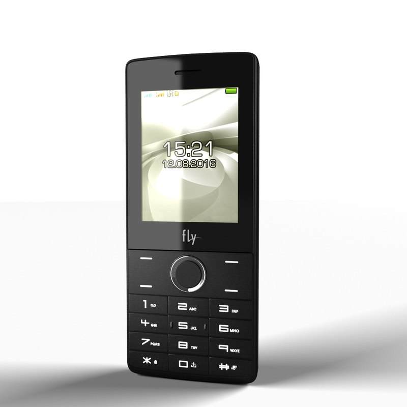 phone fly grey 3d max