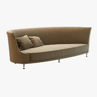 3d newtone sofa moroso model