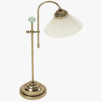 3d model qgl1744 landlife 54cm table lamp