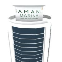 3d tamani hotel marina model