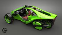3d model campagna trex