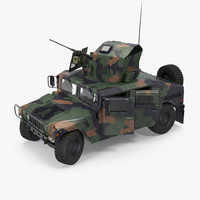 3d max humvee m1151 enhanced armament