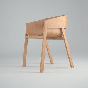 merano chair 3d max