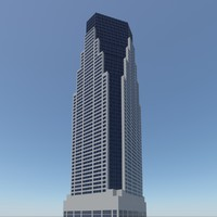 new york skyscraper obj