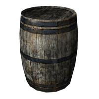 barrel grunge 3d blend