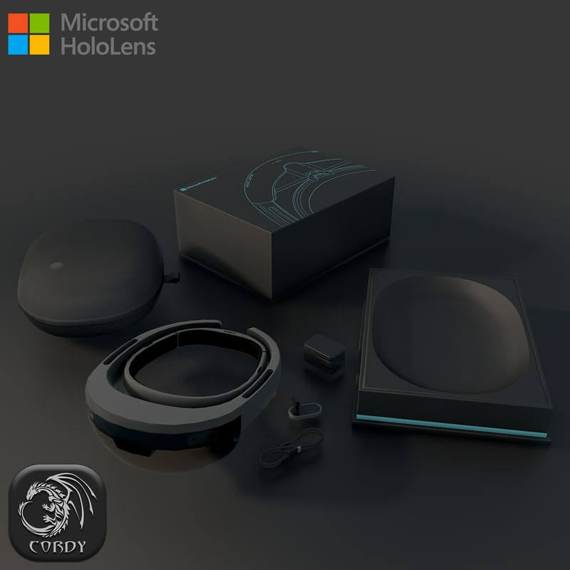 3d model microsoft hololens package