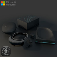 Microsoft Hololens Full package (low poly)