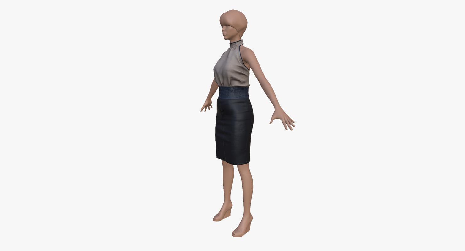 cloth women dress x