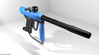 3d model marker paint paintball