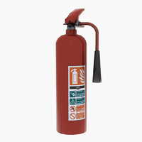 free obj mode co2 extinguisher