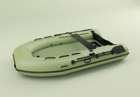 3d boat zodiac raft model