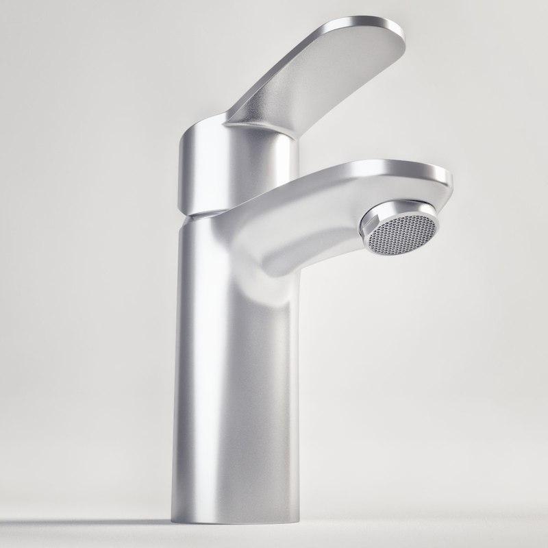 photorealistic faucet 3 3d dxf