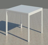 dining table 3d rfa