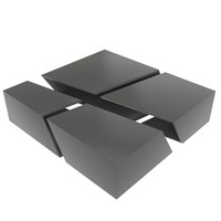 design coffee table 3d 3ds