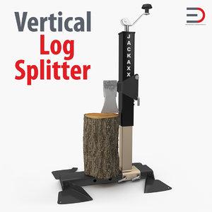 3ds max portable wood splitter bal