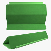 Apple Smart Cover Ipad Air Green 3D Model