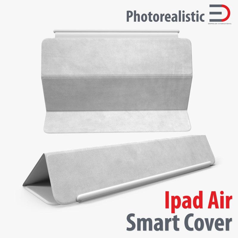 ipad air smart cover 3d model