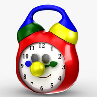 3d model tolo toy clock