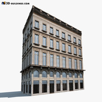 Apartment House #118 Low Poly 3d MOdel