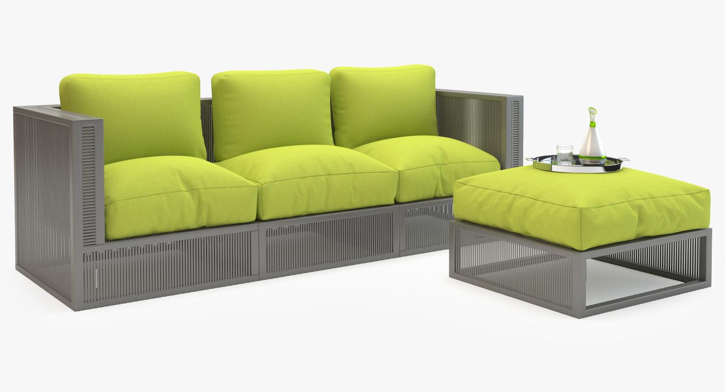 Mudo Corsica Garden Sofa Set Model