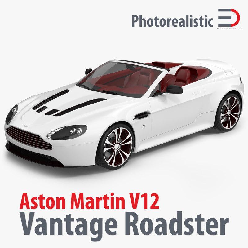 2012 Aston Martin Vantage Interior: C4d Aston Martin V12 Vantage